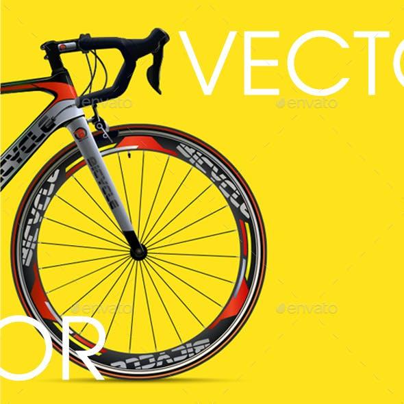 Bicycle Advertising Web Banner