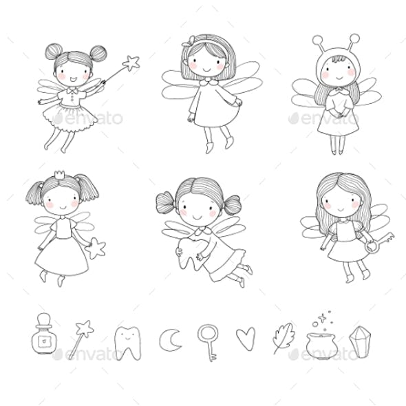 Cartoon Fairies