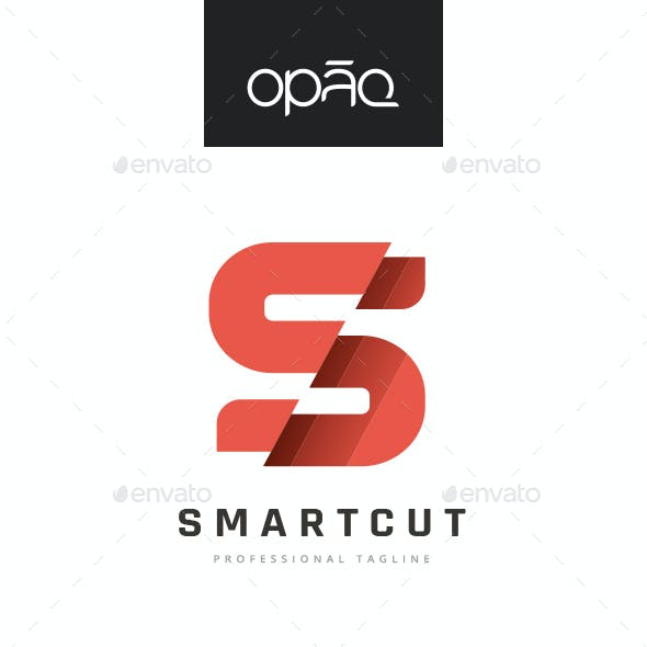 S Letter Sliced Logo