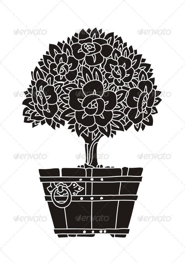 Decorative Tree - Organic Objects Objects