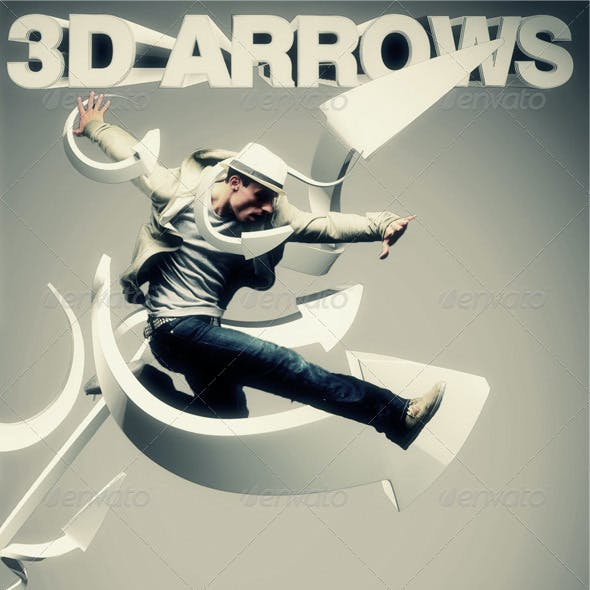 3D Arrows Pack