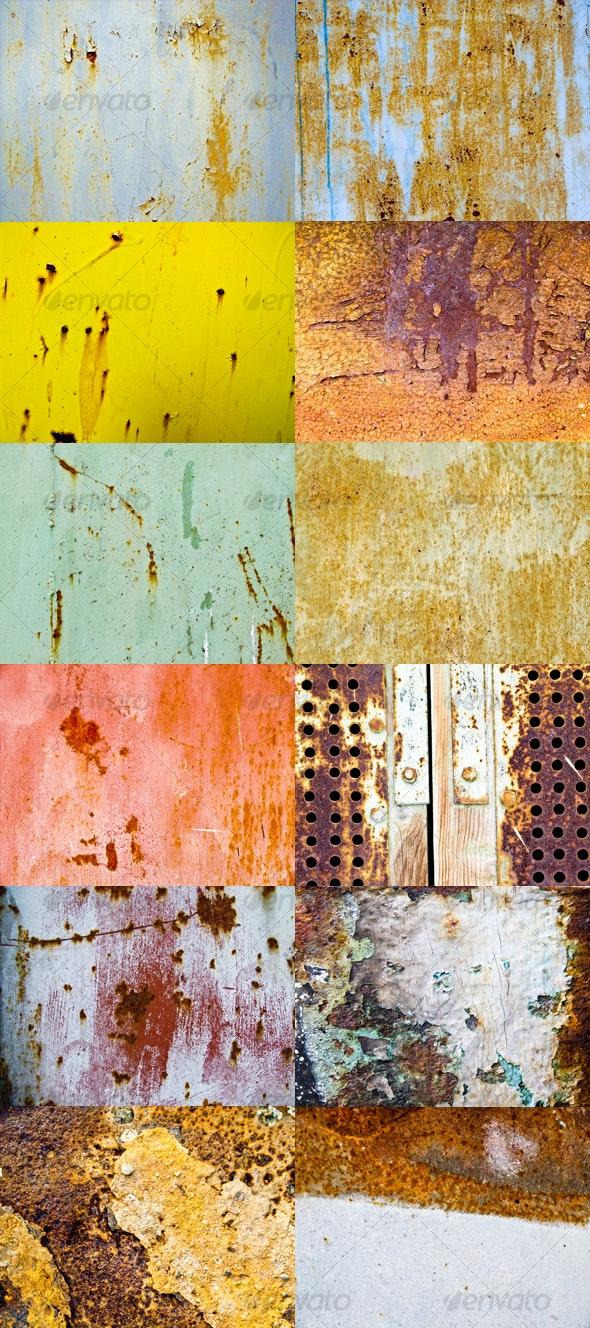 Rust Textures - Metal Textures