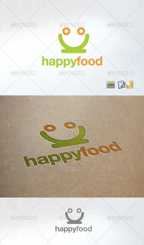 Happy food - Nature Logo Templates