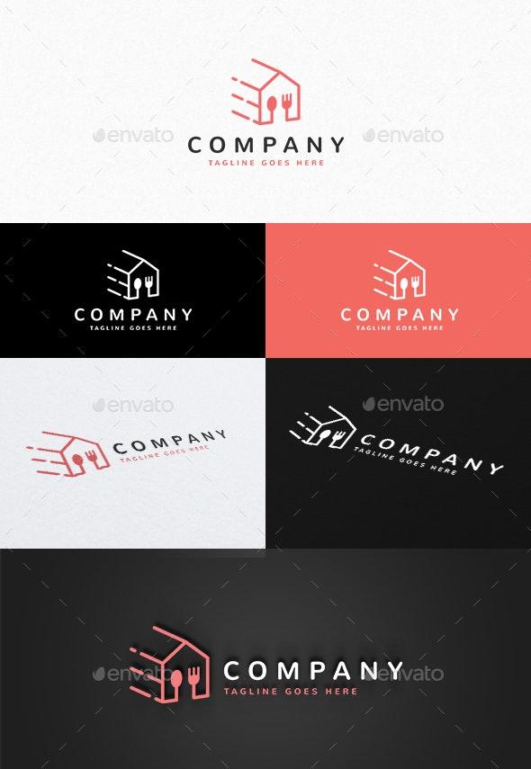 Food Delivery Logo - Food Logo Templates