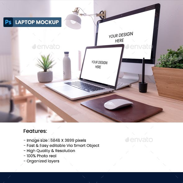Laptop & Computer Mockup