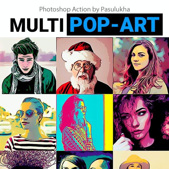 Multi Pop-Art
