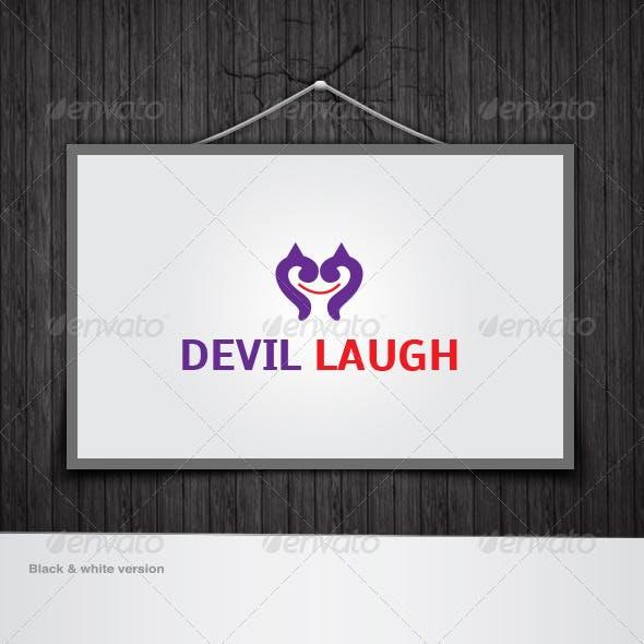 Devil Laugh Logo
