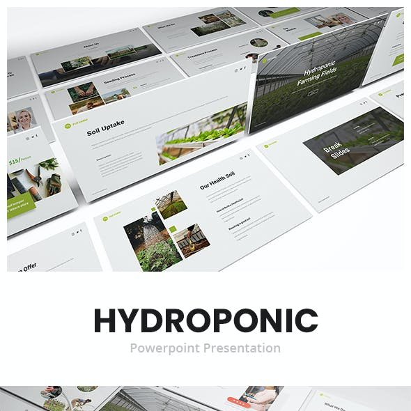 Hydroponic Powerpoint Presentation Template