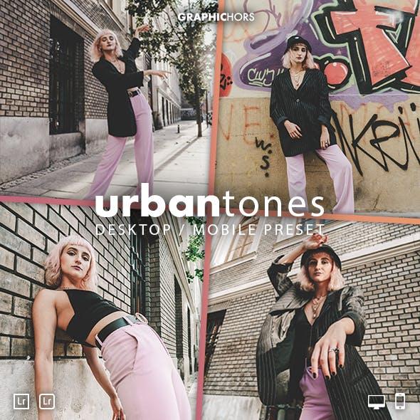 Urban Tones Lightroom Preset