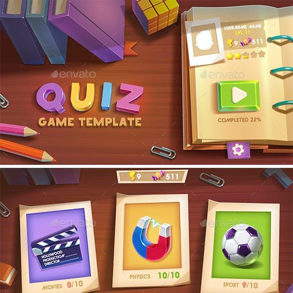 Quiz Game Template