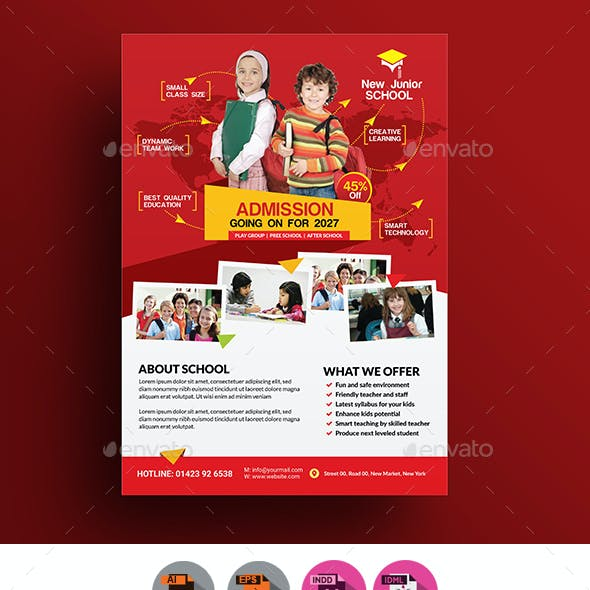Junior School Promotion Flyer