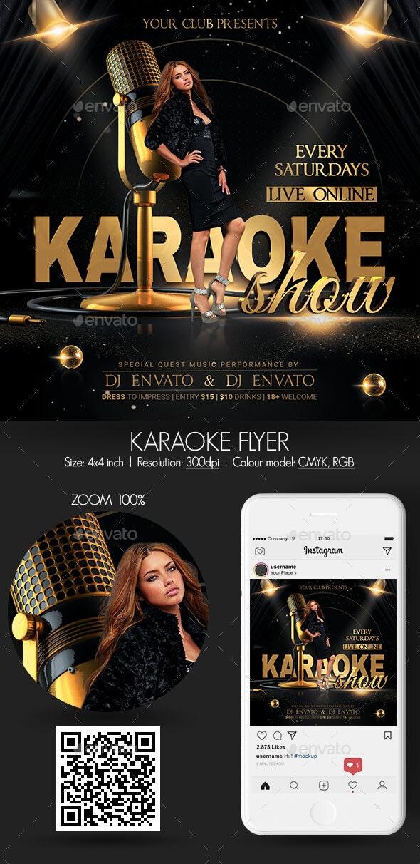 Karaoke - Clubs & Parties Events