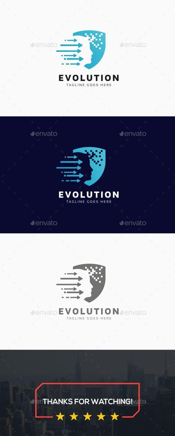 Evolution Human Logo Template - Humans Logo Templates