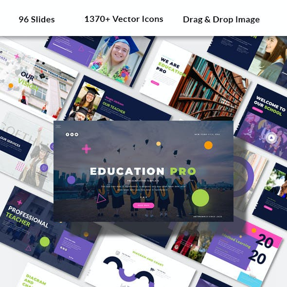 Education Pro - Powerpoint Presentation Template