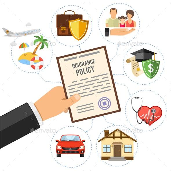 Insurance Services Concept - Concepts Business