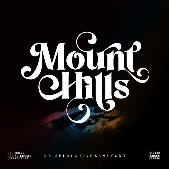 Mount Hills - Display Curve