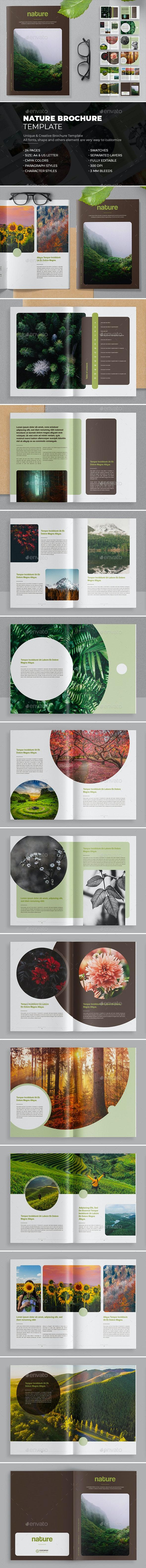 Nature Brochure - Brochures Print Templates