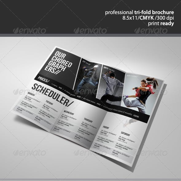 Dance Studio Brochure 2