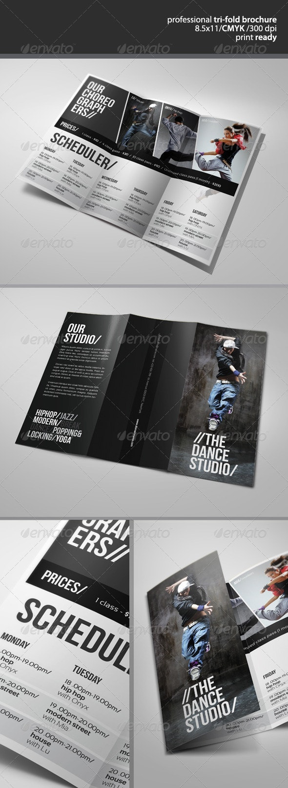 Dance Studio Brochure 2  - Corporate Brochures