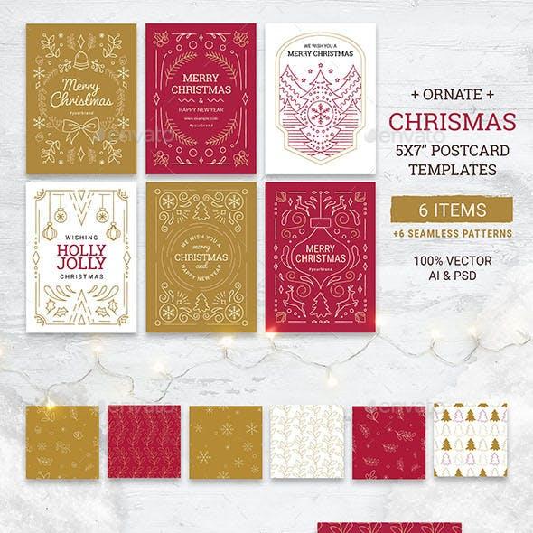 Christmas Card Flyers