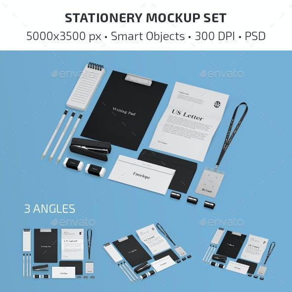 Stationery Mockup Set