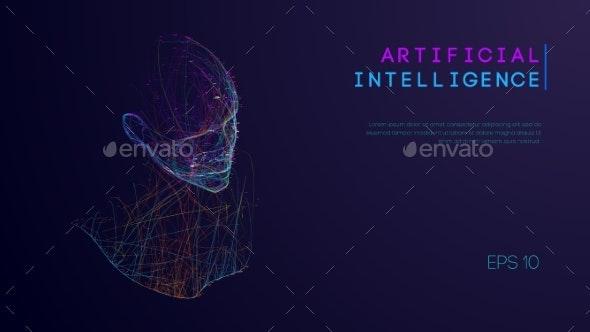 Ai Digital Brain Artificial Intelligence Concept - Computers Technology