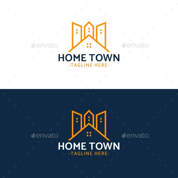 Home Town Logo Template