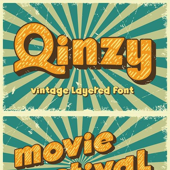 Qinzy - Vintage Font