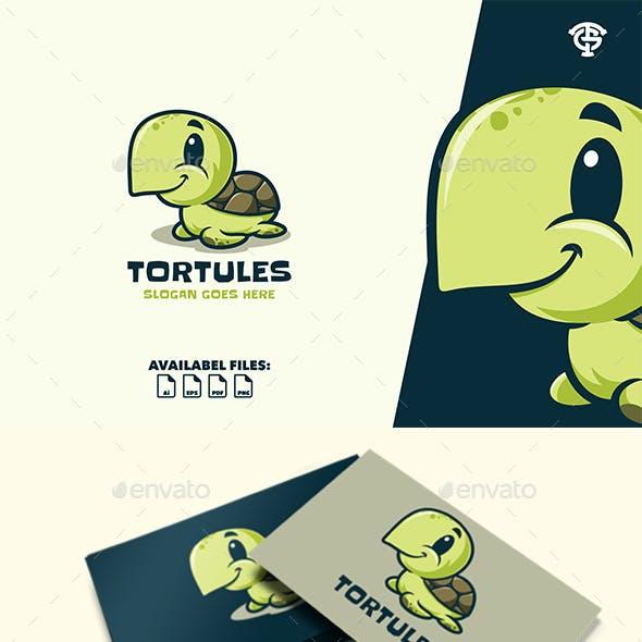 Tortules - Logo Mascot