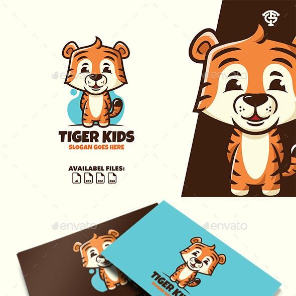 Tiger Kids - Logo Mascot