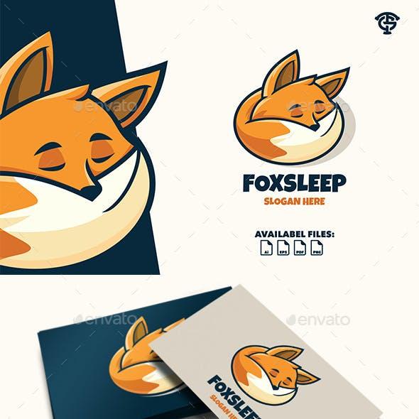Foxsleep - Logo Mascot