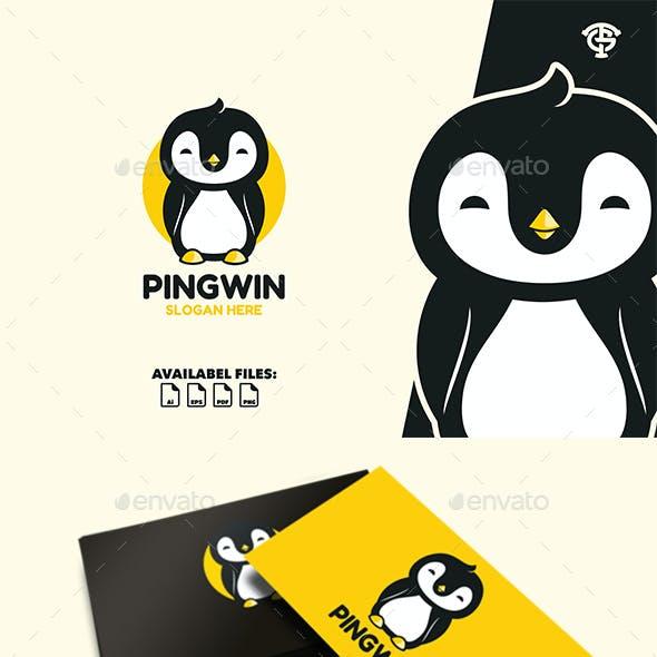 Pingwin - Logo Mascot