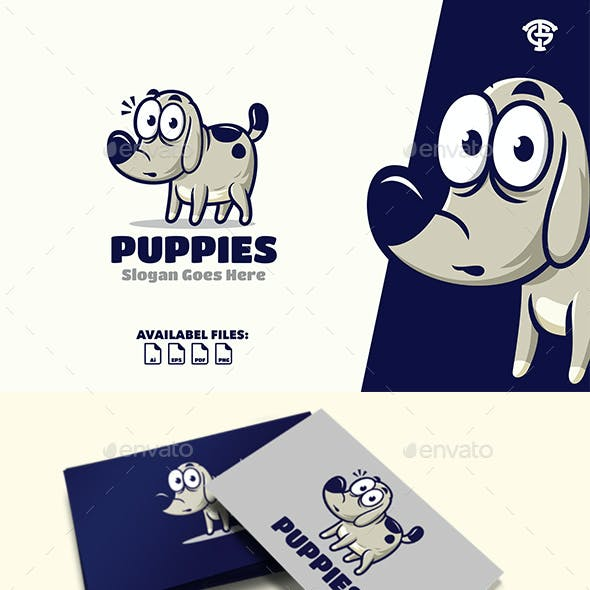 Puppies - Logo Mascot