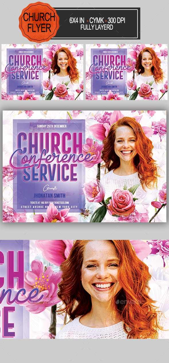 Church Conference Flyer - Church Flyers