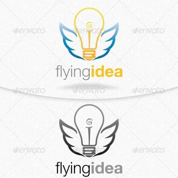 Flying Idea Logo Template