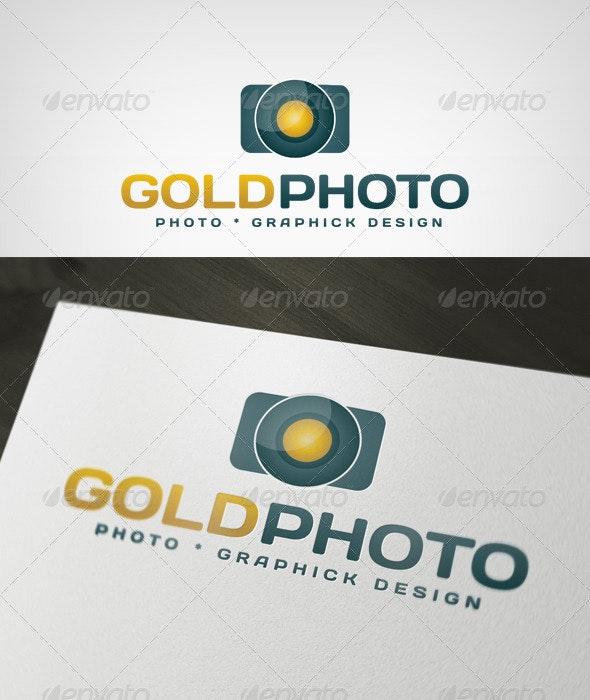 GOLDPHOTO Logo - Objects Logo Templates