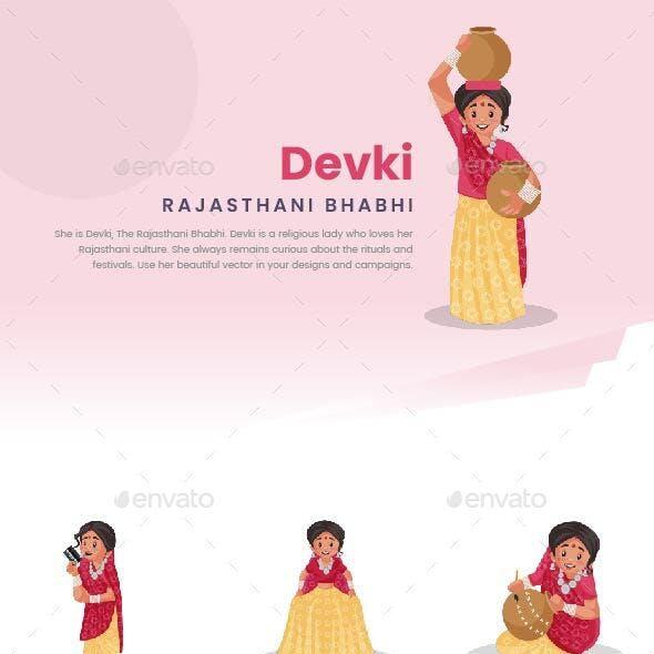 Devki – Indian Rajasthani Woman