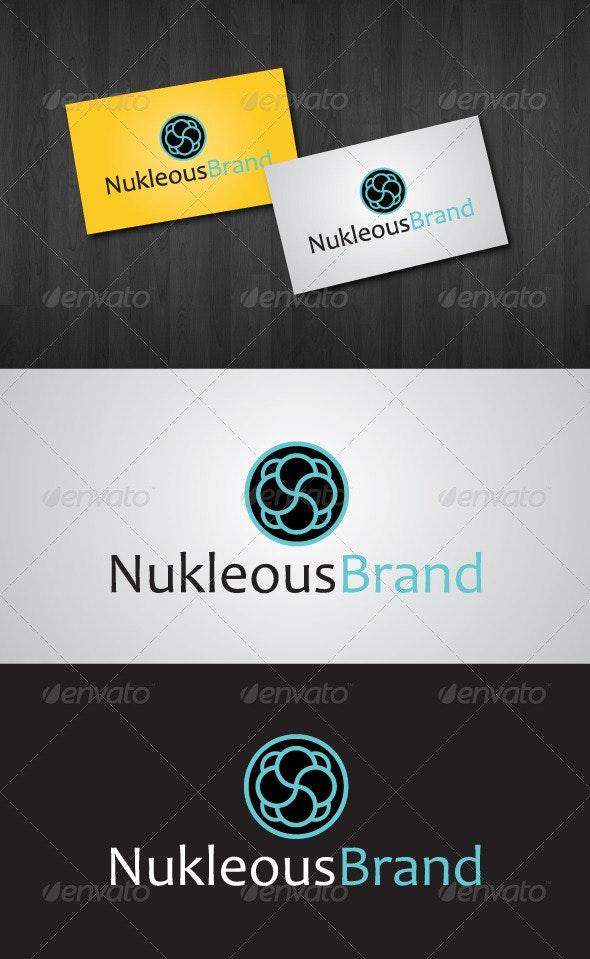 Nukleous Brand Logo - Abstract Logo Templates