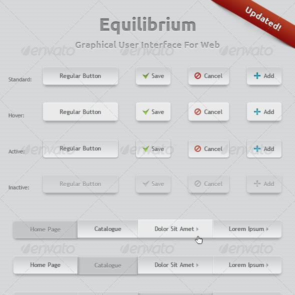 Equilibrium - GUI - Graphical User Interface