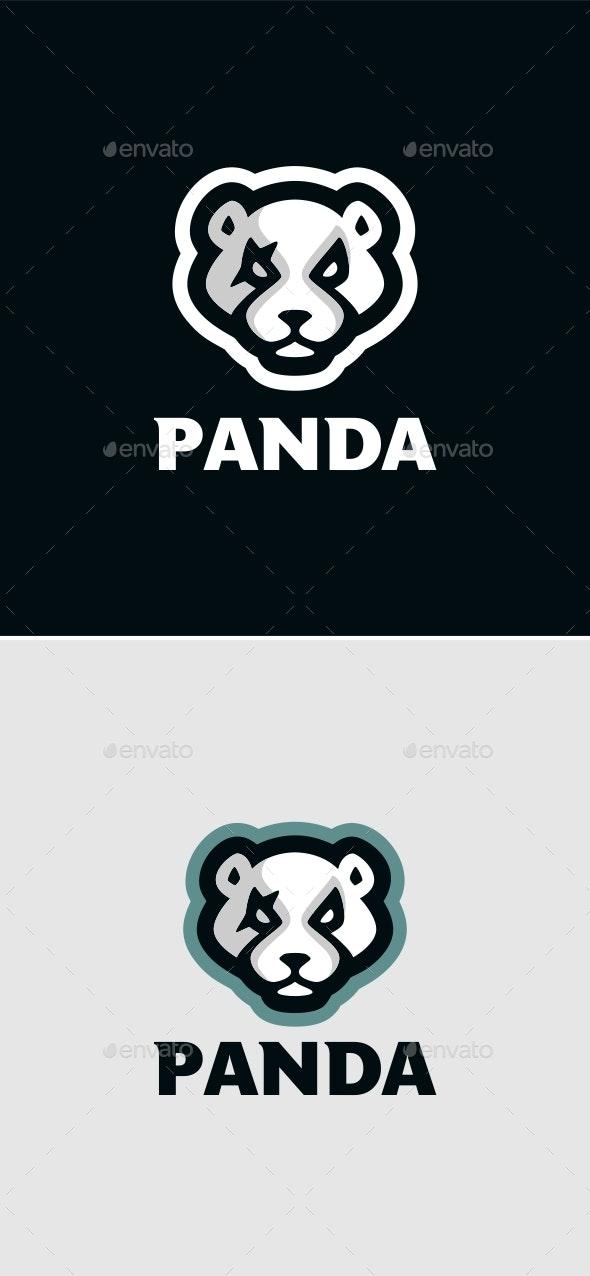 Panda Mascot - Characters Vectors