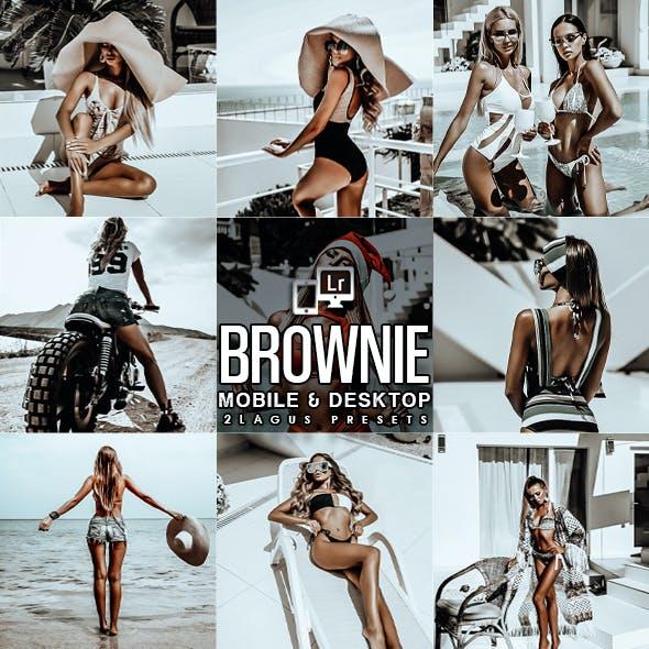 Brownie Portrait Blogger Lightroom Presets