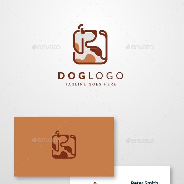 Square Dog Logo
