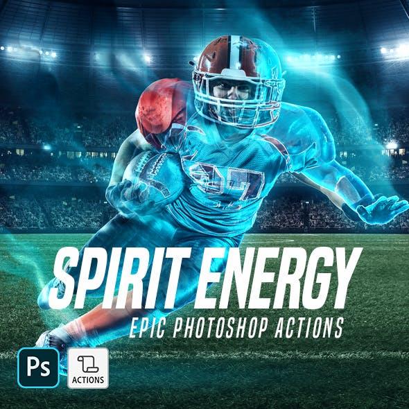 Spirit Energy Photoshop Action