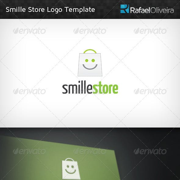 Smille Store Logo Template