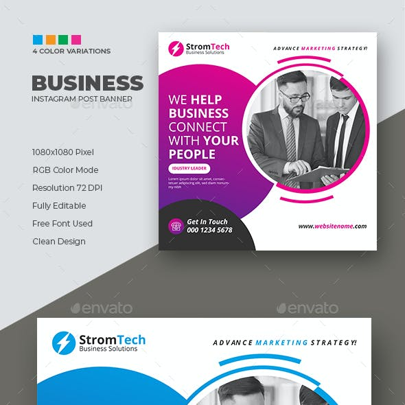 Business Instagram Template