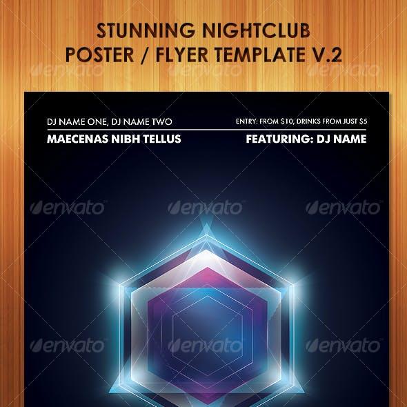 Stunning Nightclub Poster Flyer Template v2