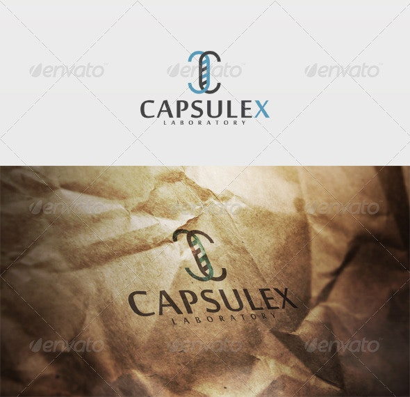 Capsulex Logo - Letters Logo Templates
