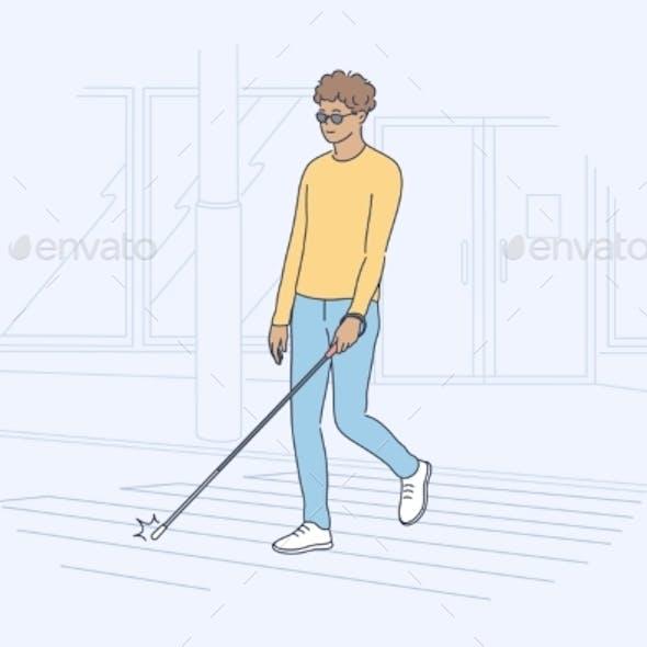 Blindness Motion Concept