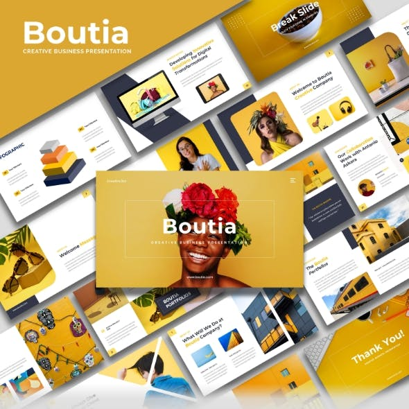 Boutia - Creative Business Keynote Template