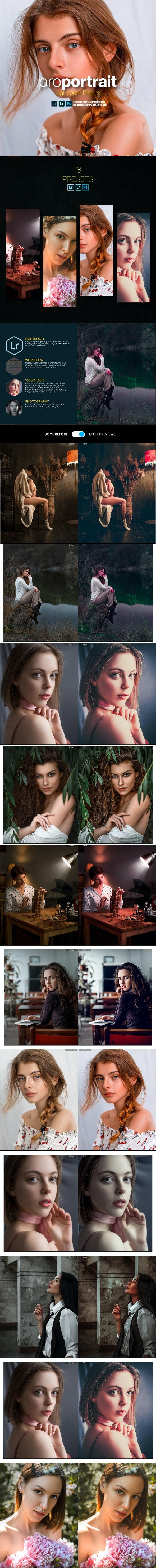 Portrait Lightroom Presets for Desktop and Mobile - Portrait Lightroom Presets